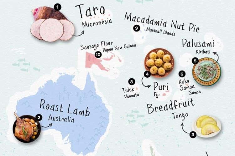 İnstagram'a Göre Dünya'nın En Popüler Yemeklerini Keşfedin