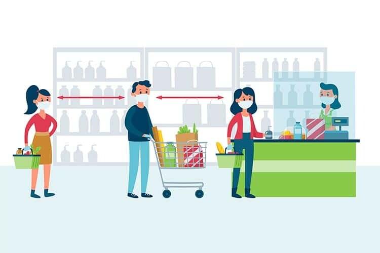 Alışveriş Sırasında Covid-19'a Yakalanma Riski Nedir? Kendinizi Nasıl Korursunuz?